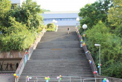 Treppe Ganerben-Gymnasium