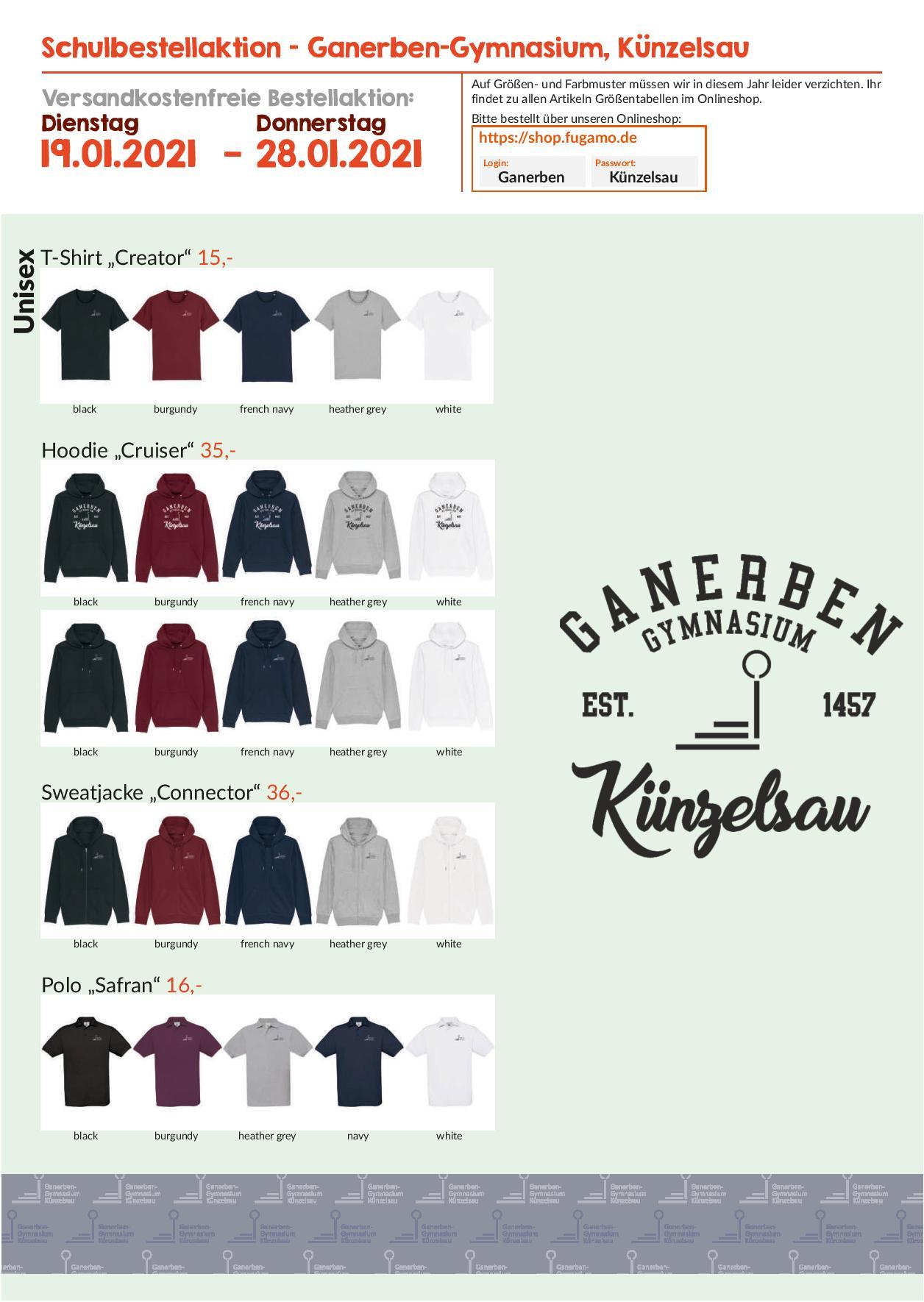 T-Shirt Bestellaktion